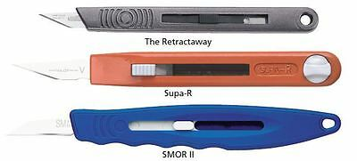 Retractaway Handle Premium Supatool R SM0-R SUPA-R Swann Morton Scalpel Handle