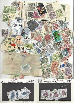 DENMARK large stamp collection lot