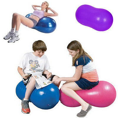 Peanut Anti Burst Yoga Swiss Ball GYM Exercise Fitness For Relax&Calm With Pump
