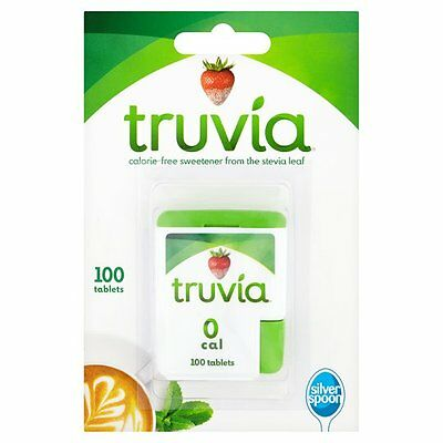 Silver Spoon Truvia Sweetner Tablets 100 per pack Calorie Free