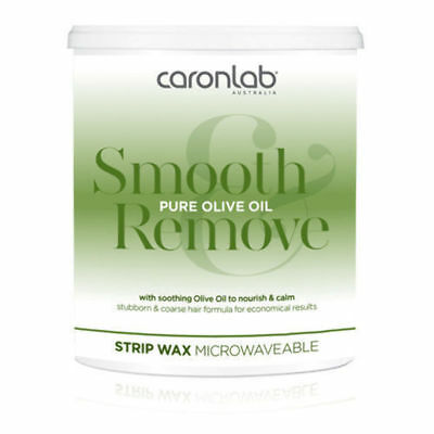 Caron Pure Olive Oil Strip Wax Microwaveable 800g Waxing Hair Removal