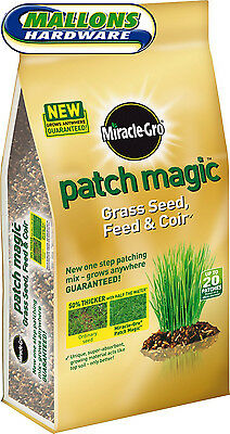Miracle Gro Patch Magic Grass Seed Feed Coir 1.5 KG