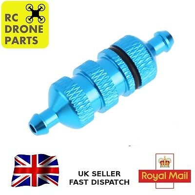 RC Fuel Filter 1/10 and 1/8 Scale Aluminium Nitro HSP 4WD Car Upgrade UK