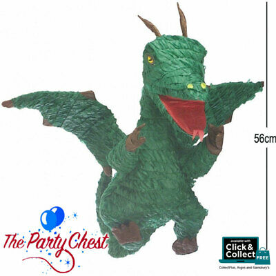Fairy Tale DRAGON Animal Character Pinata Party Game Decoration 56cm Tall P13515