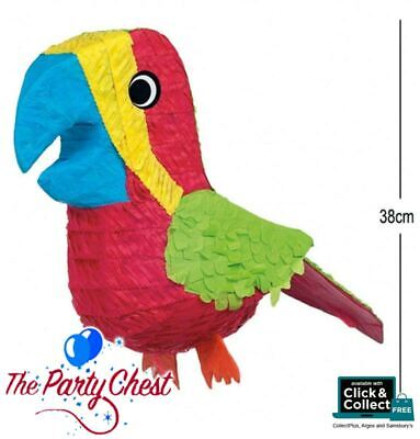 Tropical PARROT Zoo Animal Pinata Party Game Decoration 38cm P16800