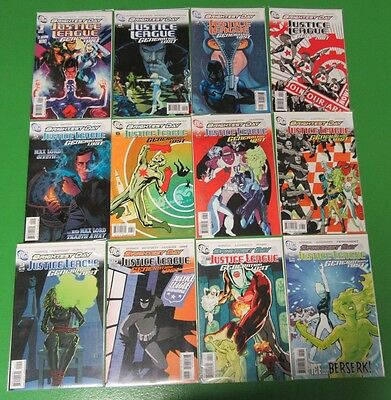Brightest Day Justice League Generation Lost #1 2 3-12 Run Lot of 12 Comics - DC