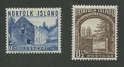 Norfolk Island #15, 16 Mint