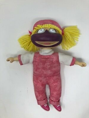 Angelica from Rugrats Nickelodeon Eats a Popsicle Doll