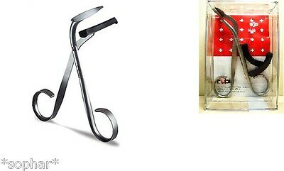 RUBIS Switzerland EYELASH CURLERS Eye Lash Curler Stainless Steel New in Box