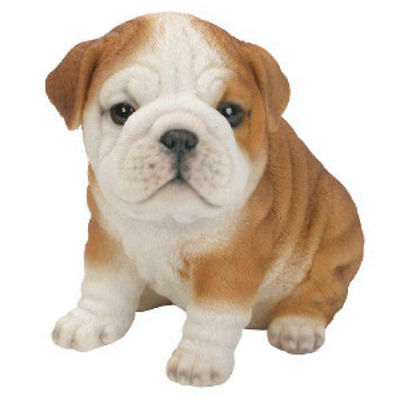 NEW Bulldog Pet Pal Puppy Ornament - Vivid Arts