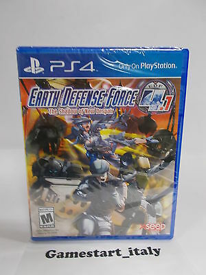Earth Defense Force 4.1 The Shadow Of New Despair - Sony Ps4 - Nuovo New