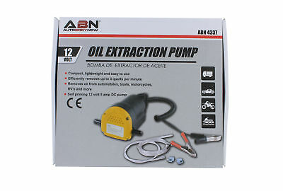 12v Fluid Oil Diesel Extractor + Tubes Truck Rv Boat ATV