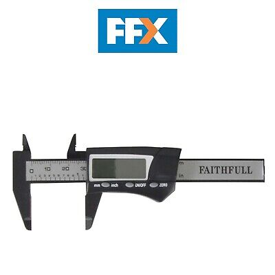 Faithfull FAICALDIG75 Mini Digital Caliper 75mm Capacity