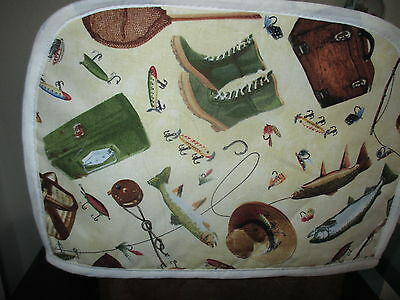 Fishing, 2 Slice Toaster Appliance Cover, New
