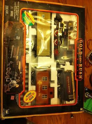Gold Rush Express Train Set #186 from 1996 in Box