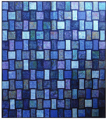 Blue Moon - modern pieced quilt PATTERN - Designs by JB