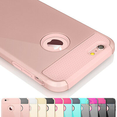 "Dirt Dust Proof Shockproof Hard Cover Case Skin for iPhone 6 6S 4.7""/ 5.5"" Plus+"