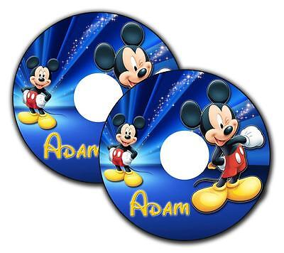 Wheelchair Spoke Guard Stickers Mickey Mouse Custom Designs Personalised