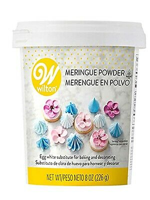 Wilton Meringue Powder Resealable 8 Oz For Royal Icing Meringue Boiled Icing