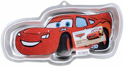 Wilton Lightning McQueen CAKE PAN Disney Pixar Cars Birthday Jello Mold Aluminum