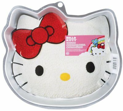 Wilton Hello Kitty Shaped Birthday Cake Pan New Aluminum Durable For Sweet Cakes