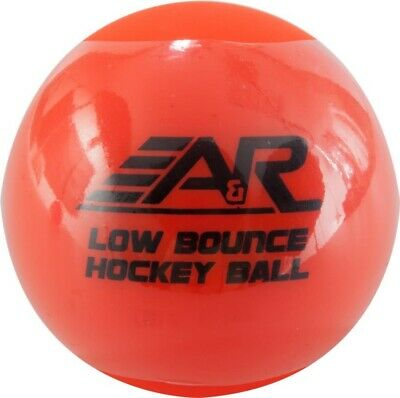 A&R Low Bounce Roller Street Floor Hockey Ball Orange Above 60 Degree Weather