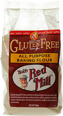 Bob's Red Mill All Purpose Baking Flour 600g *GLUTEN, WHEAT & DAIRY FREE*