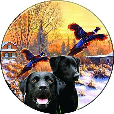 Spare Wheel Cover Sticker Labrador Retriever 4x4 Land Rover Jeep