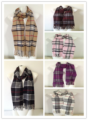 6Pcs Wholesale $4.50 Each 100% Cashmere Scarf Made In Scotland Lot3