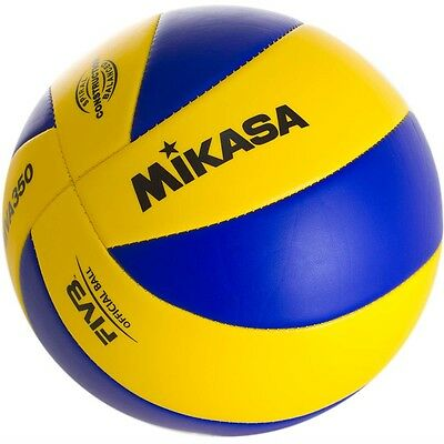 Mikasa FIVB Volleyball Replica Of 2012 Olympic Game Ball Spiral Balanced MVA350