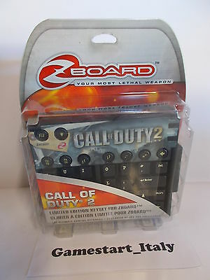 Steelseries Call Of Duty 2 - Limited Edition Keyset For Zboard - Pc - New