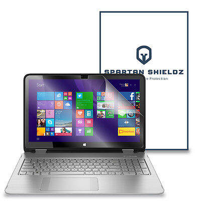 """6X - Spartan Shield HD Screen Protector For HP Envy x360 15T Touch 15.6"""" - 6X"""