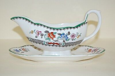 Sauciere Chinese Rose Spode Copeland