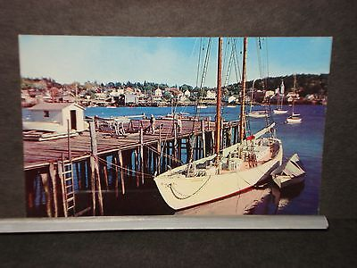 The BOWDOIN North Pole Exploration Vessel, BOOTHBAY HARBOR, MAINE  Naval Cover