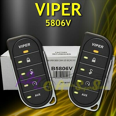 Viper 5806V 2-Way Security / Remote Start / Keyless Entry / Trunk Rel/smartstart