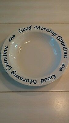 Cereal Dish for Grandma by Papel