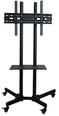 Stand With Wheels TV Cart For LCD LED Plasma Flat Panels New 32''-60''