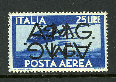 Italy Trieste AMG VG 1LNC5 Double Inverted MNH Sassone Airmail 6d €700 6A11 16
