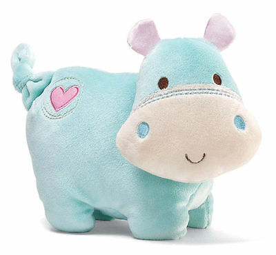 8 inch HIPPO CHIME TOY - Safari Friends by BABY GUND New