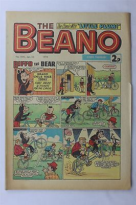 The Beano #1645 January 26th 1974 FN+ Vintage Comic Bronze Age Dennis The Menace