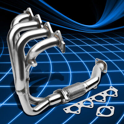 Fit RD 97-01 2.0L Beta I4 Stainless Steel Performance Header Manifold Exhaust