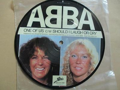 Abba, One of Us/Should I Laugh or Cry, rare picture disc