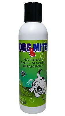 Dogs n Mites™Anti Demodex Shampoo for Treatment of Dogs Puppies Demodectic Mange