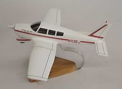 PA-28-150 Piper Warrior Airplane Handcrafted Wood Model Regular New