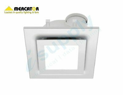 Mercator 10' High Extraction Exhaust Fan Square LED Lamp BE170SP