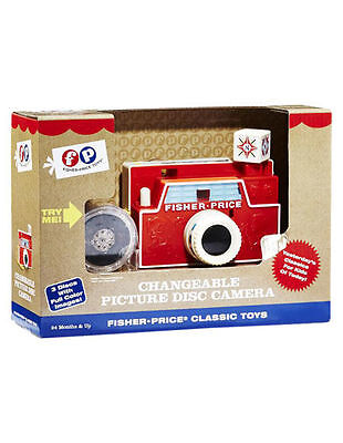 NEW Fisher-Price Classics Changeable Picture Disk Camera