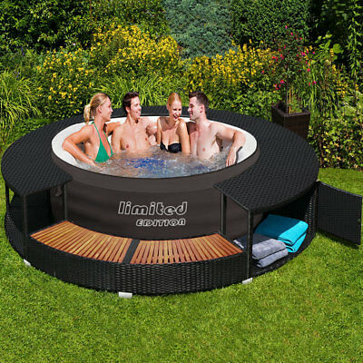bestway lay z spa limited whirlpool jacuzzi aufblasbar outdoor filterpumpe eur 349 95. Black Bedroom Furniture Sets. Home Design Ideas