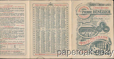 1897-1898 Perre Benezech  American Wine Grape Vines For Sale In France Brochure