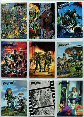 Topps Mars Attacks Archives 1994 Comic and New Visions Sets 67-99 Plus 0 card