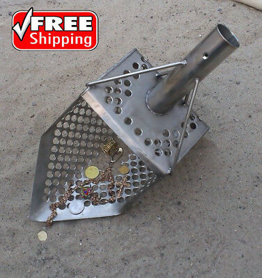"Sand Scoop ""5-GRANIK  10m"" Metal Detector Tool from Genuine Stainless Steel !!!"